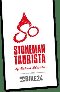 Stoneman Taurista Logo Salzburger Sportwelt Hotel in Flachau