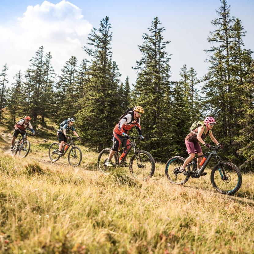 Bike Trails in der Salzburger Sportwelt