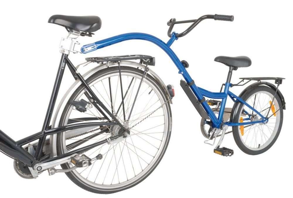Tandemstange für Kinder im Bike Verleih