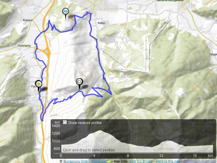 Bikeurlaub Sporthotel Tauernhof hotel in Österreich map flachau karte Sattelbauer