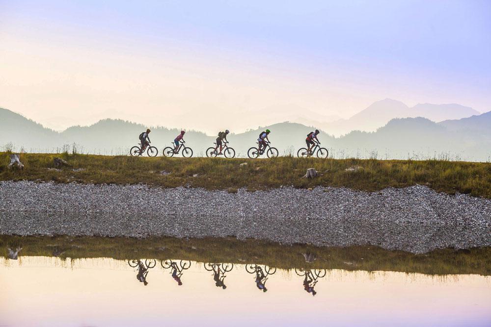 Bike Hotel mit Guide im Urlaub in Österreich
