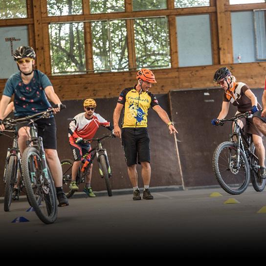 Tauernhof bike technique training Flachau