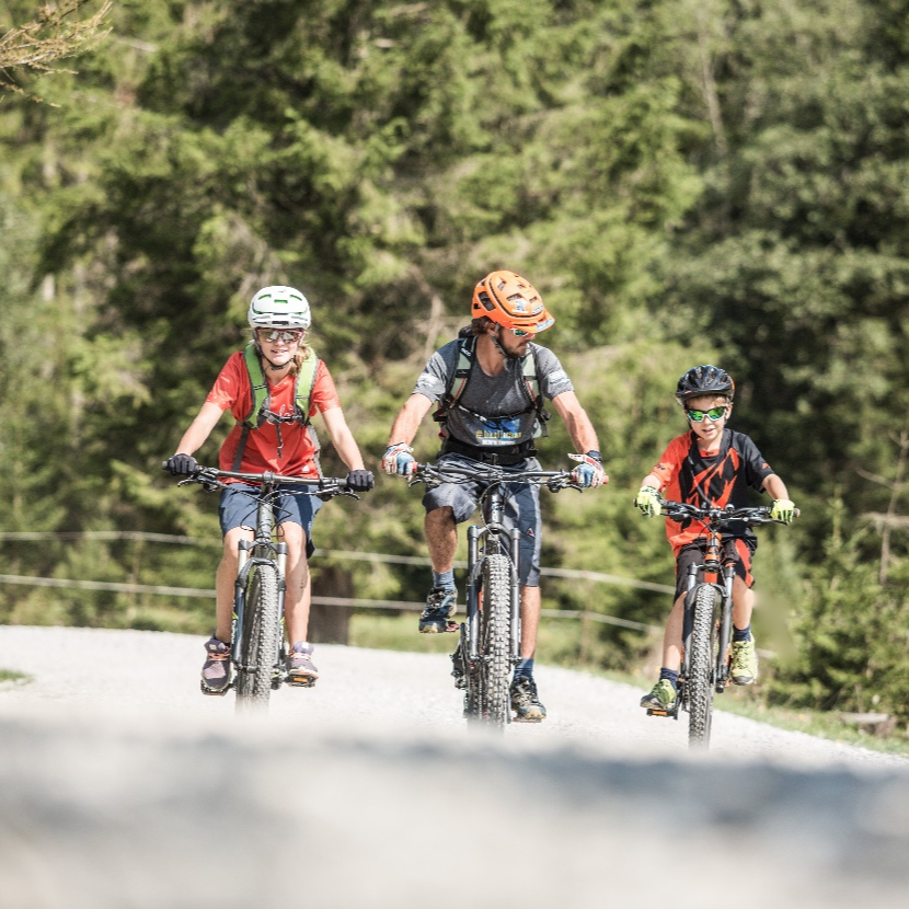 Kinderbiketour Urlaub mit Kinder in Flachau