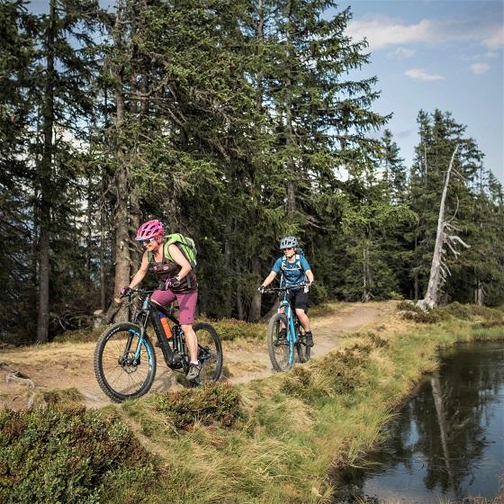 E-Mountainbike im Verleih von Focus in euren Urlaub, Österreich