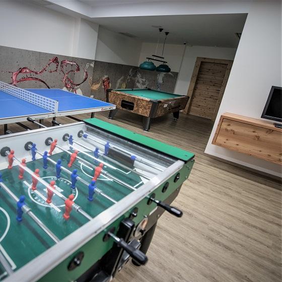 Billard und Tischtennis im Tauernhof in Flachau
