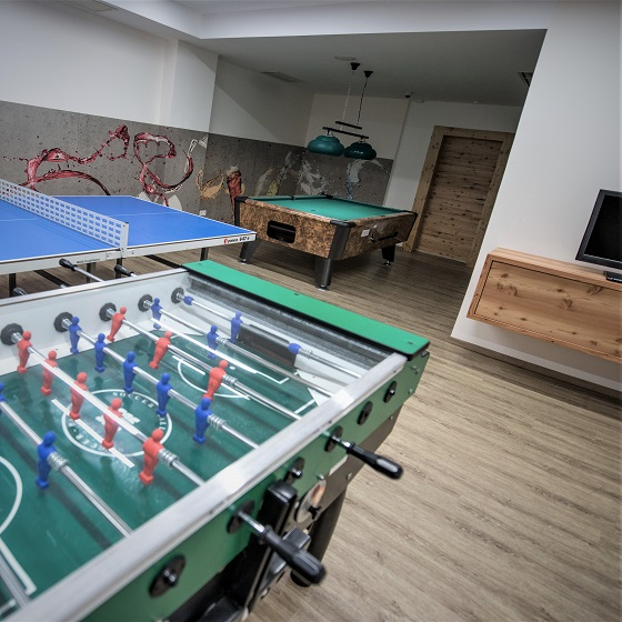 Funbox Table-football at Tauernhof