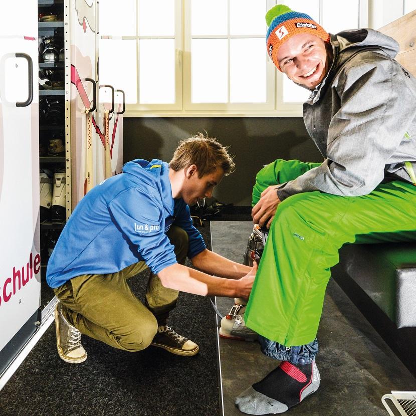 Fun&Pro Ski-service at Tauernhof Flachau