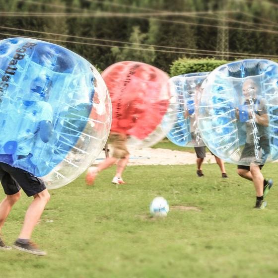 Group-activity Bubble soccer Sporthotel Flachau