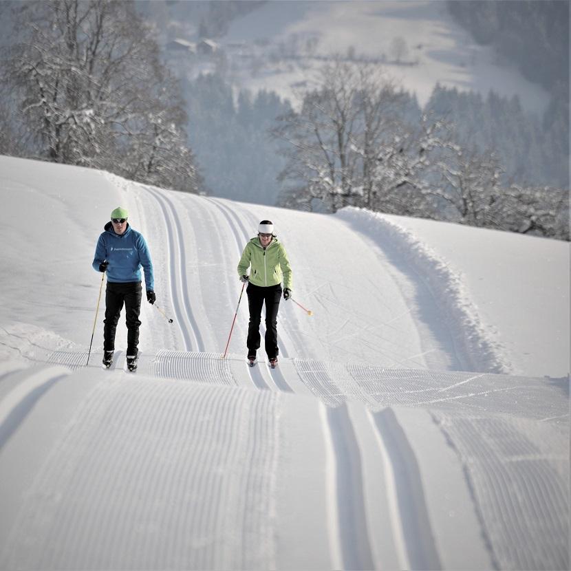 Langlaufen in Flachau Skihotel Tauernhof