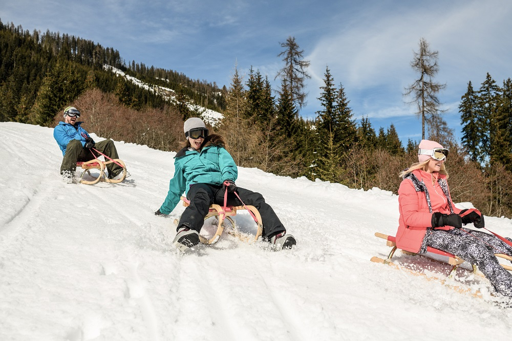 Snowactivities Sporthotel Tauernhof Flachau