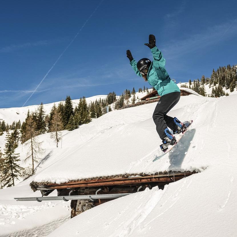 Snowboardkurse Familienurlaub in Flachau