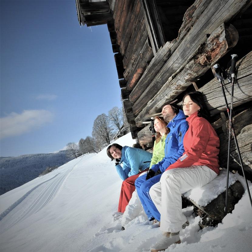 Winterwandern Skiurlaub in Flachau