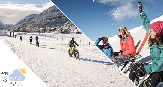 April Biking and Skiing Tauernhof