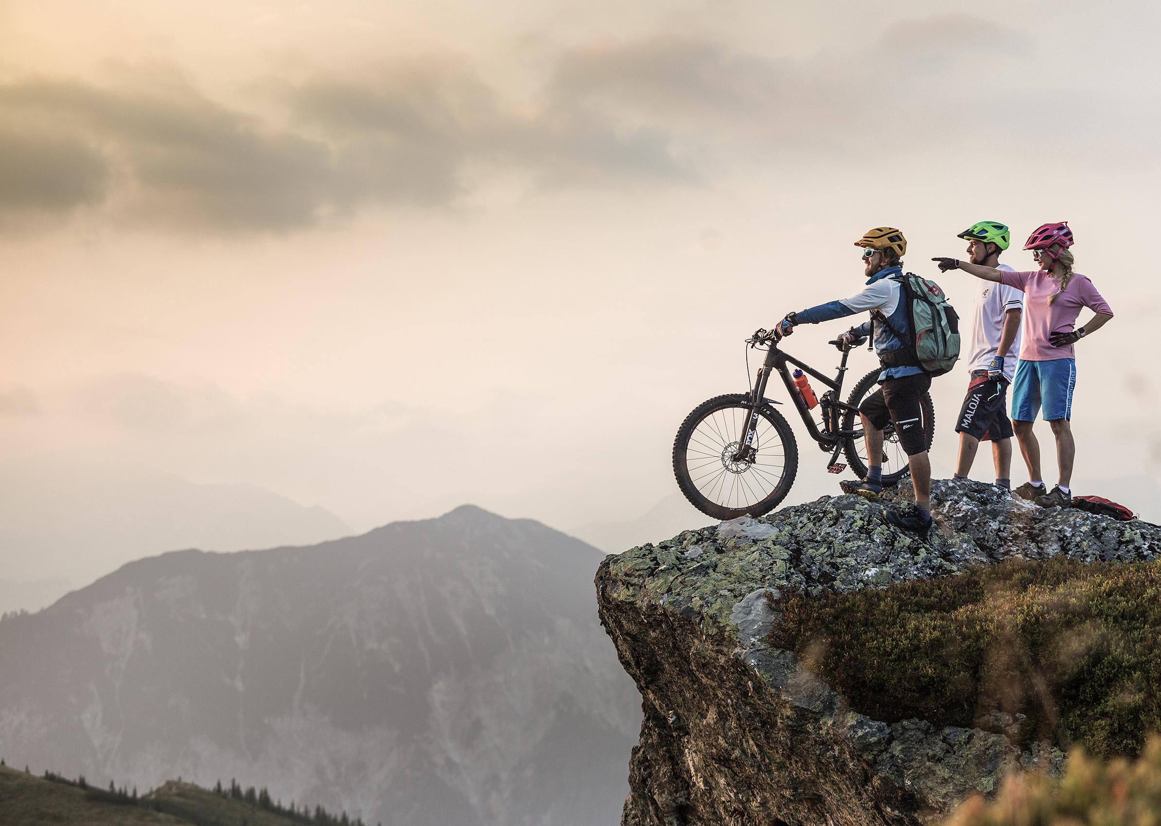 Mountainbike Holiday in Flachau Tauernhof