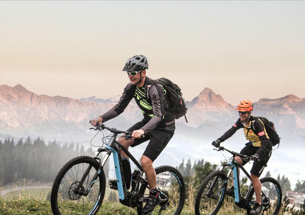 Focus E-Bike Hotel in Flachau mit Verleih