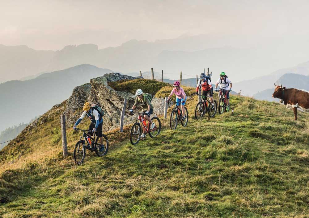 mountainbikeurlaub in Österreich