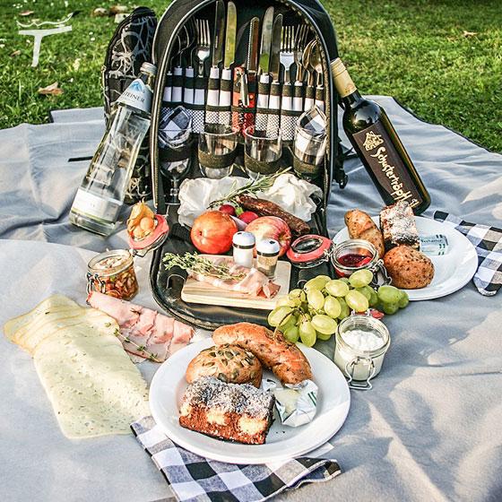 picknick rucksack sommerurlaub flachau