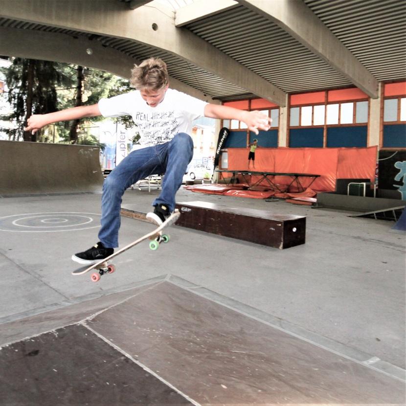 Skating in Funpark Tauernhof Flachau