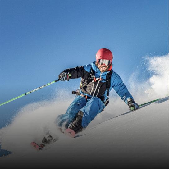Skiing in Flachau Tauernhof