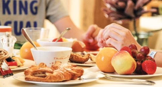 Frühstück im Hotel Tauernhof in Flachau