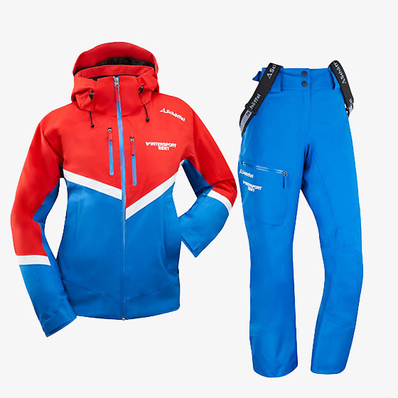 rent ski jacket and ski pants